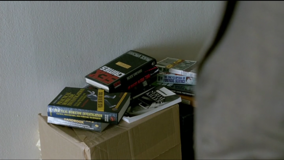 They should have had some Bolano in this stack of Rust's books.