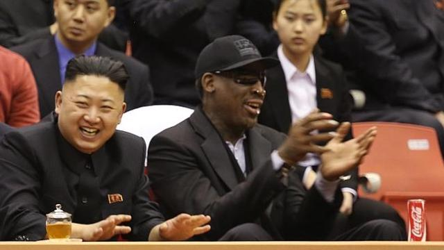 North Korea Rodman